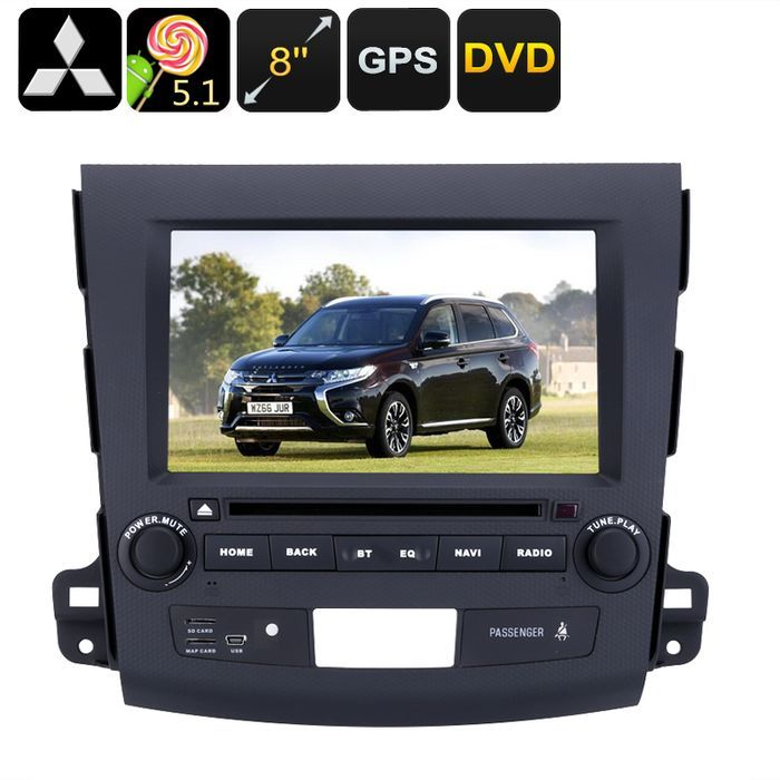 2 DIN Car DVD Player Mitsubishi Outlander 8 Inch HD Display Android OS Quad Core: Bid: 421,19€ Buynow Price 421,19€ Remaining 09 dias 23 hrs