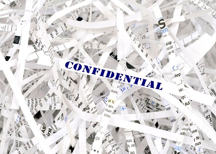 How to find out valuable office gossip by reconstructing shredded documents