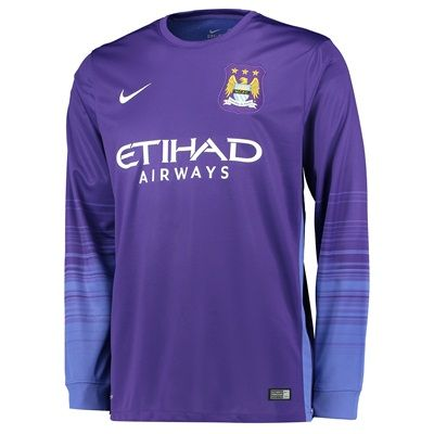 Manchester City 1st Choice Goalkeeper Shirt 2015/16 Purple