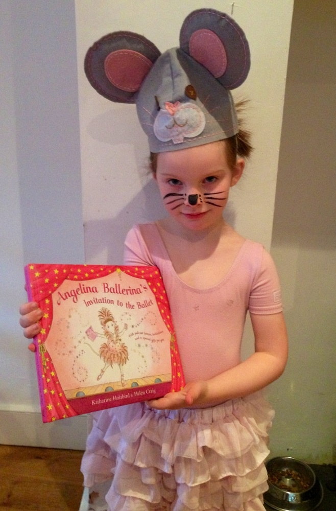 Children dress up for world book day