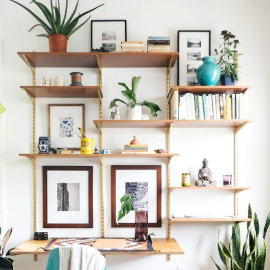 8 Modern Mid-Century DIY furniture pieces. Click for tutorials (image via Old Brand New)