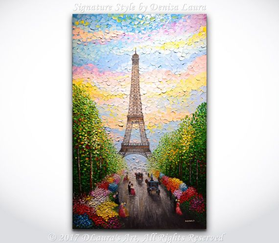 Hey, I found this really awesome Etsy listing at https://www.etsy.com/listing/506149458/paris-painting-original-abstract-art
