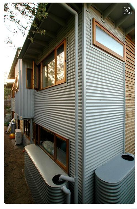 Corrugated Iron Cladding Sections