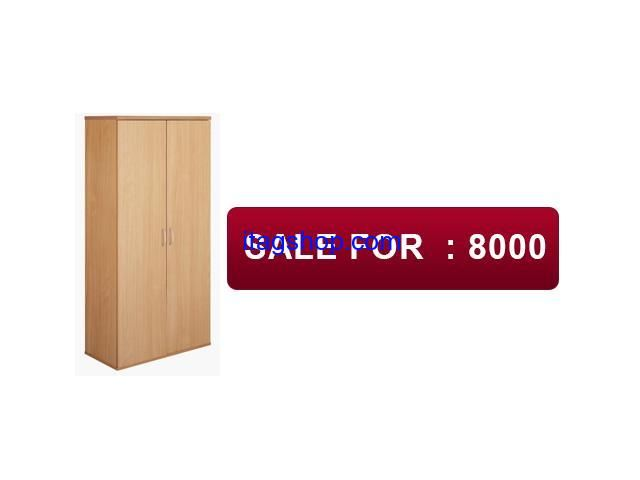 I have a wooden, brown formica 2 door cupboard for sale in normal condition. Only serious buyers are requested to contact on the given number. Price may be negotiated a bit only.