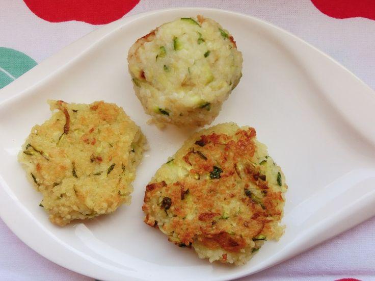 Couscous-Zucchini-Bällchen
