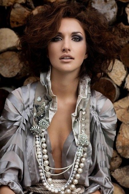 love the pearls and rhinestone broches