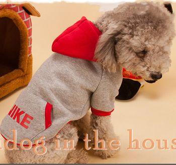 Nike Dog Clothes | nieuwe fashion design 2014 kleine honden kleding nike teddy poedel ...