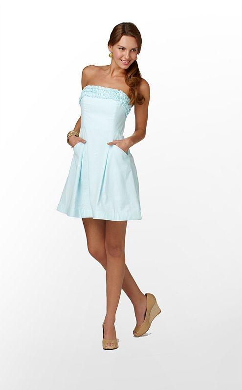 seersucker Lilly dress! <3