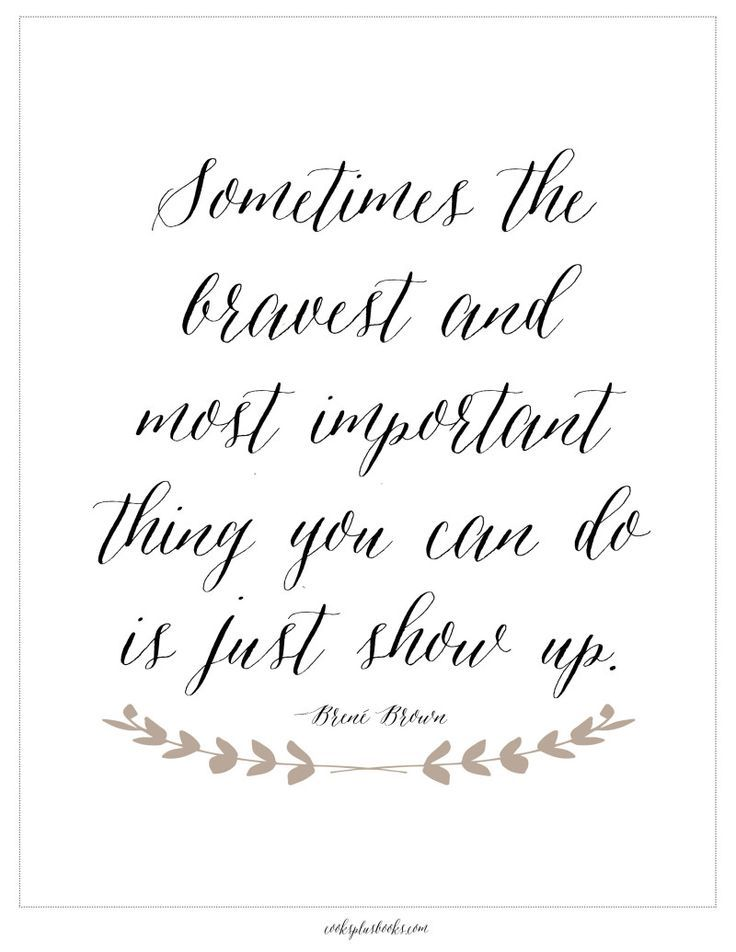 "A free, beautiful art print with writing inspiration, plus a Literary Agent's advice on how to combat procrastination.  As the Brene Brown quote goes: ""Sometimes the bravest and most important thing you can do is just show up."" Here's to showing up to your #WIP every day!"