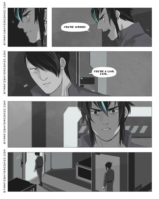Starfighter Chapter 4: Page 67  awwww shit son