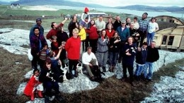 The Castaway 'cast' who won places on a remote Scottish island.