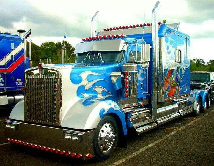 Custom Kenworth W900 Trucks Pinterest