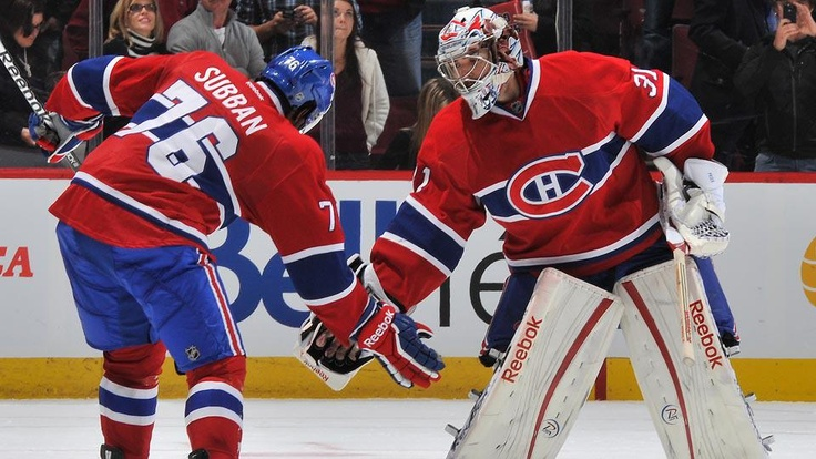Carey Price and P.K. Subban