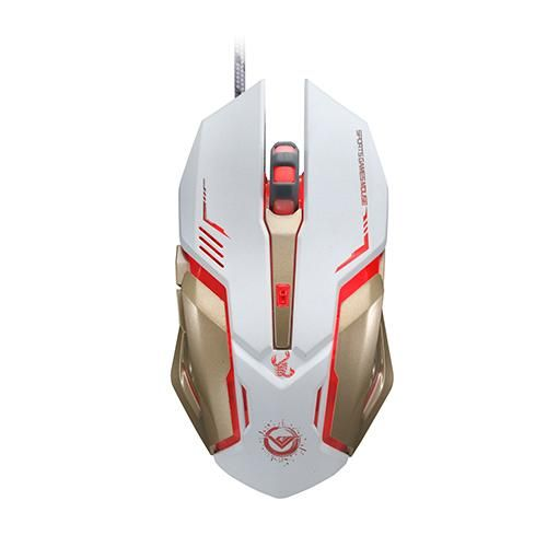 Gaming Mouse Buttons Optical Macro Programming USB Game Mouse Gamer 3 Color
