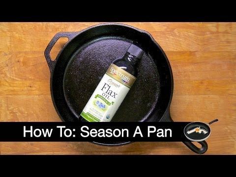 how to clean a cast iron pan after cooking bacon
