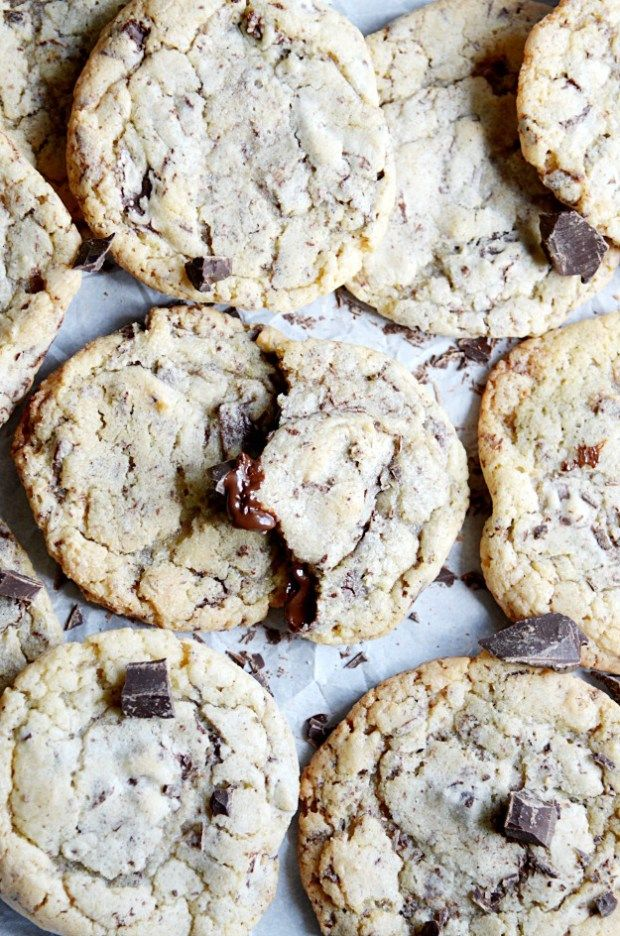 It's easy to see why Epicurious ranked these as their favorite chocolate chip…