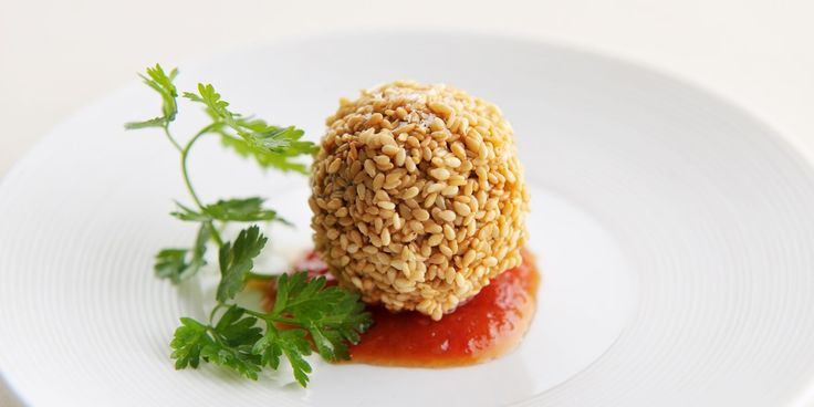 Sesame & Cheddar Croquettes Recipe - Great British Chefs