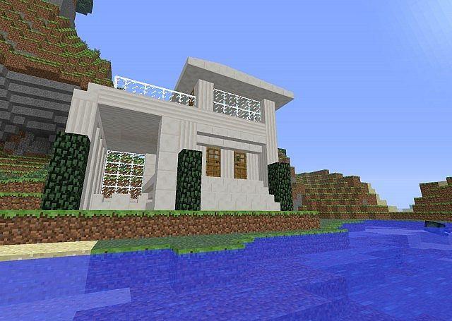 78 best images about minecraft on pinterest modern for Beach house designs minecraft