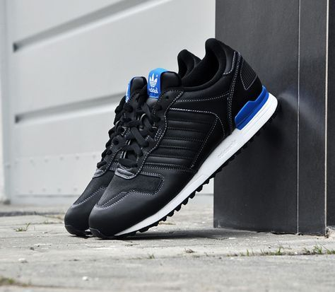 adidas Originals ZX 700-Black-Blue-White