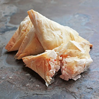 """Never thought there would be """"HEALTHY Crab Rangoon""""... but apparently it exists."""