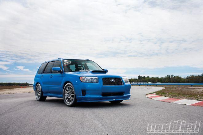 2008 Subaru Forester XT - Modified Magazine