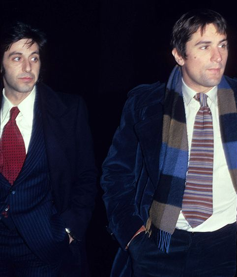 Pacino and De Niro ( 1977)