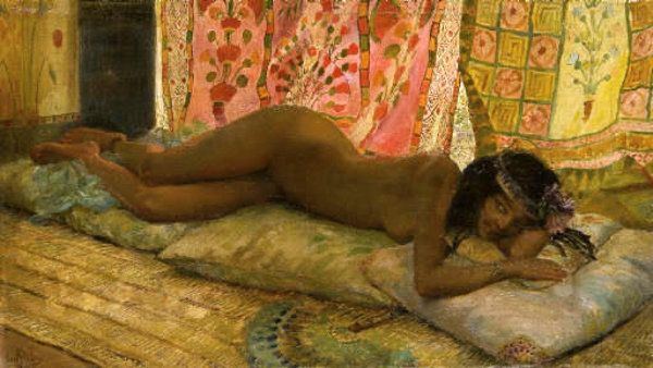 Odalisque by Georges Rochegrosse 1859-1938