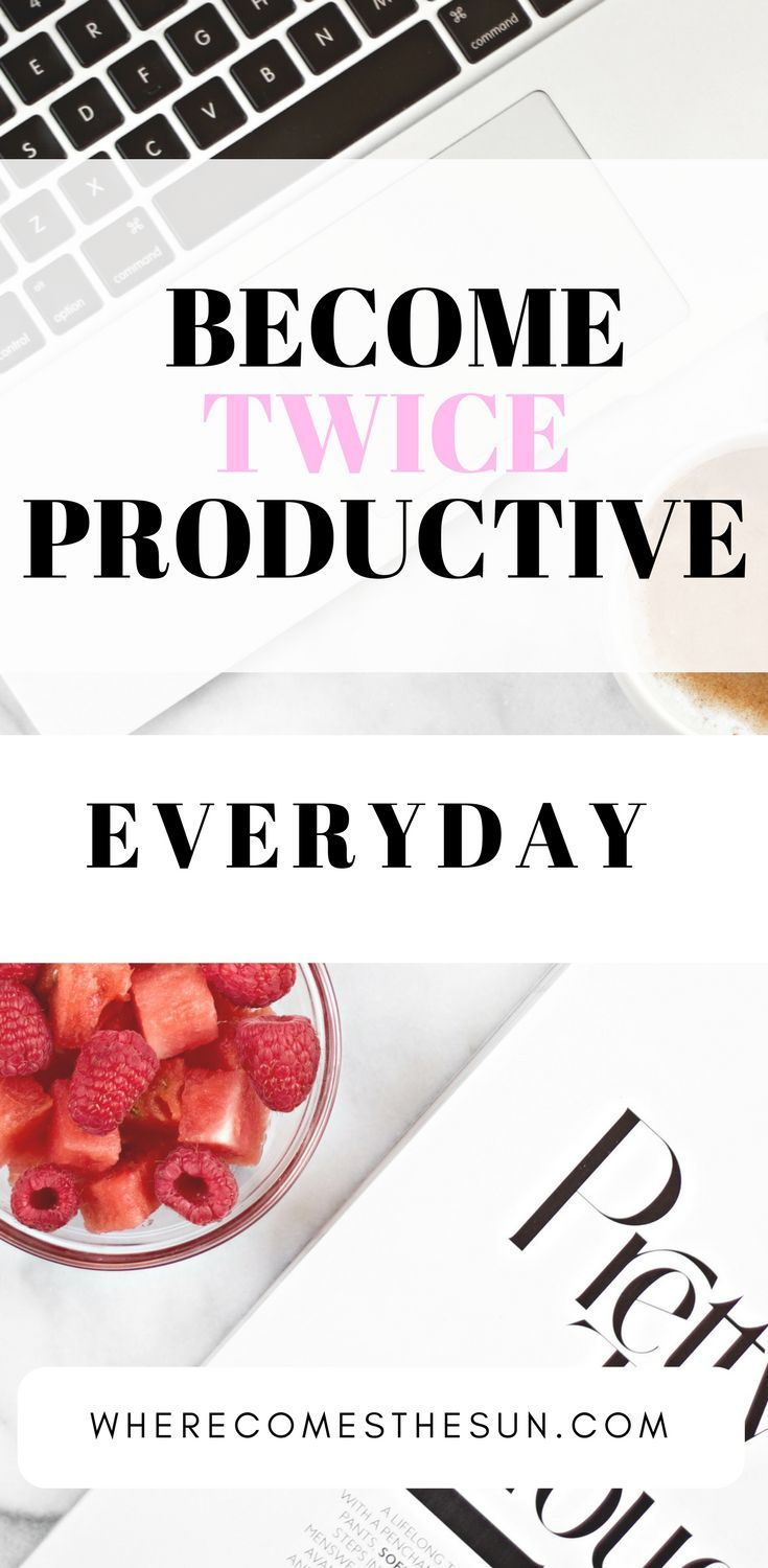 How to get twice more productive everyday with this simple hack!! And get massive loads of work done!