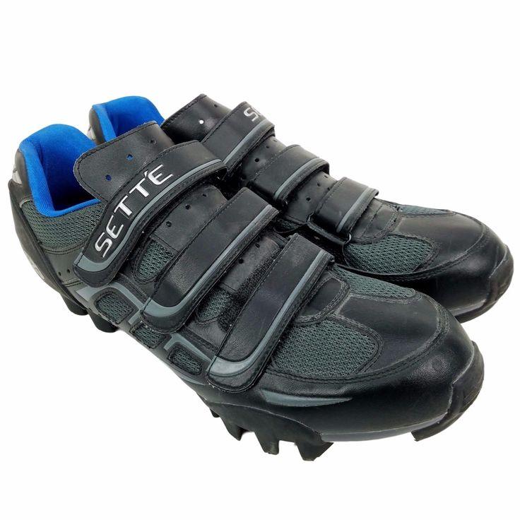 SETTE  Element  MTB Cycling MOUNTAIN Bike Shoes BLACK  Men's 13.5 US 12.5 UK