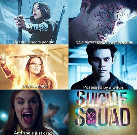 Image de teen wolf, tyler posey, and suicide squad