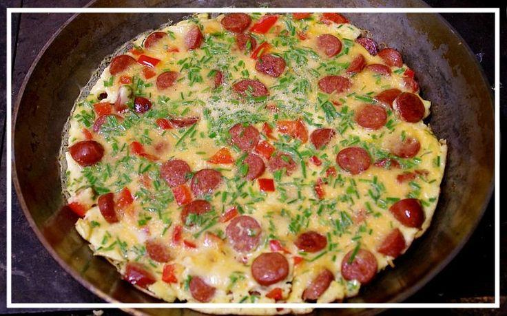 Nicola Haken:Counting Daisies - Chorizo Omelette