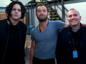 Jack White and Jude Law. I don't even know what to do with myself.