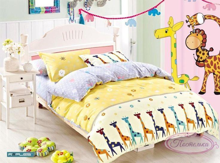Детское постельное белье сатин Bella Villa B-0025 Sn