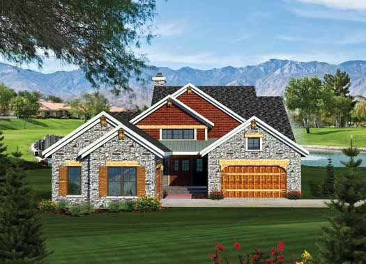 Plan European, Ranch, Northwest, Craftsman House Plans U0026 Home Designs