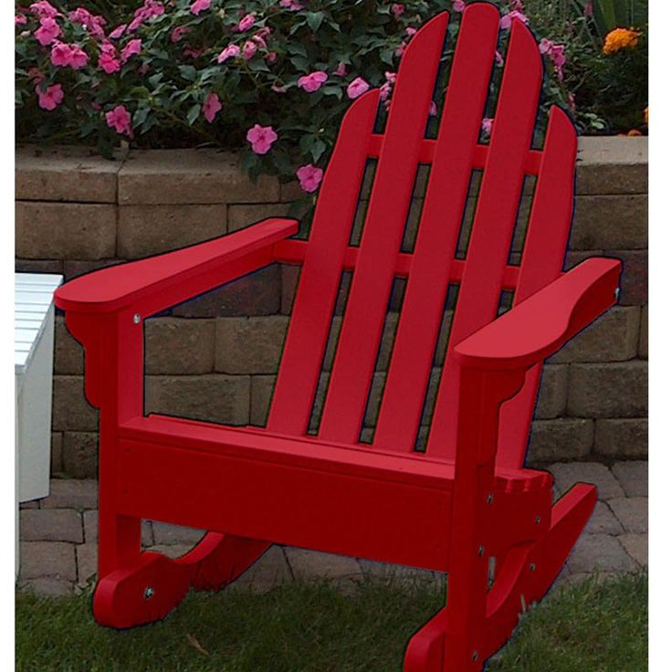 17 Best ideas about Adirondack Rocking Chair on Pinterest