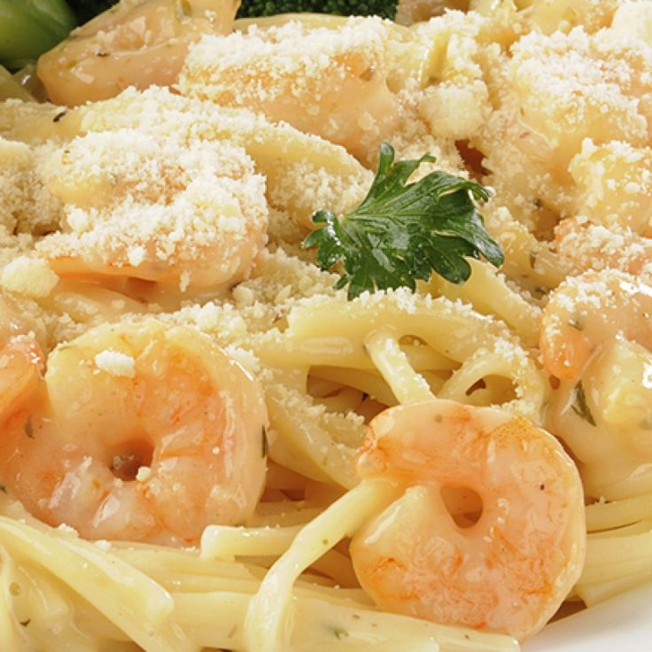 This creamy shrimp pasta recipe makes a tasty creamy sauce with precooked shrimp.  It is very quick to prepare and has a mild flavor.. Creamy Shrimp Pasta Recipe from Grandmothers Kitchen.