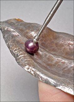 [Ganoksin] Step By Step - Forged Leaf Brooch - foglia in metallo forgiato