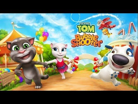 Talking Tom Bubble Shooter - Free Android Game Download Mobile