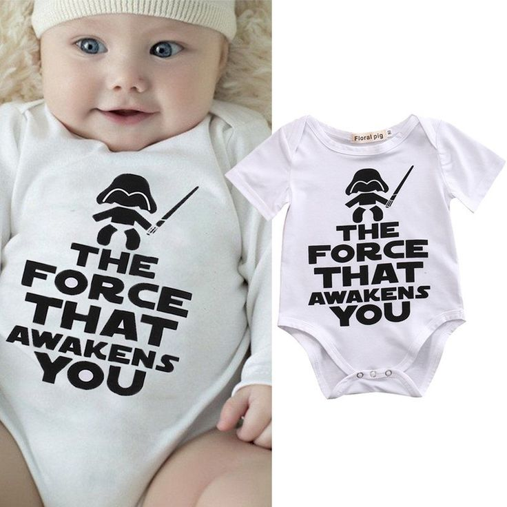 The 14 Best Star Wars Baby Clothing Collection Images On Pinterest