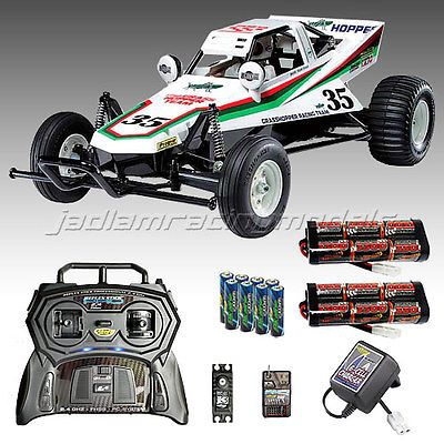Tamiya #grasshopper buggy rc car deal #bundle radio, charger 2x 3300 #battery 583,  View more on the LINK: http://www.zeppy.io/product/gb/2/400899782276/