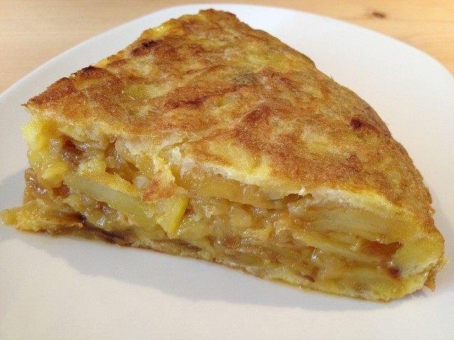 Tortilla de patatas | Cuisine Mediterranean | Pinterest