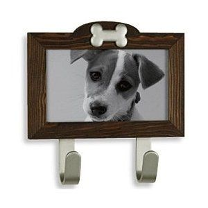 Rustic Photo Frame Leash Hook - Designer Leash Hook with a PictureFrame - Modern and Contemporary Pet Products Updated Daily - CoolPetProdu...