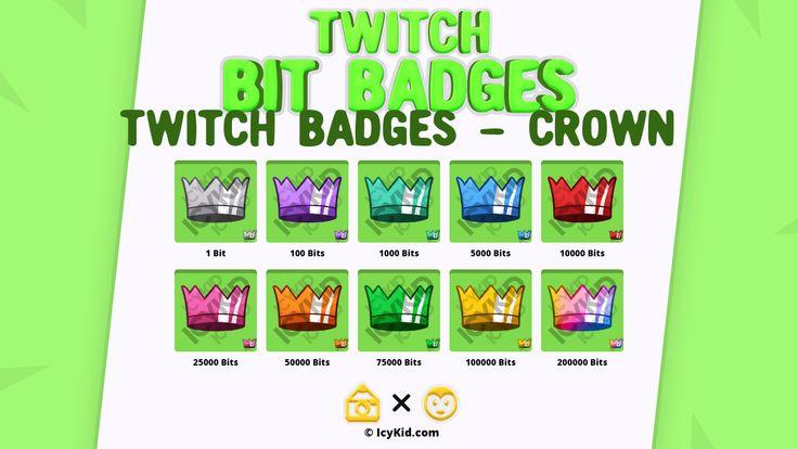 Crown bit premium in 2021 twitch bits