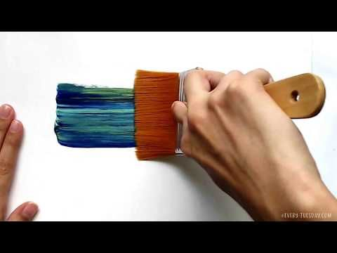3 Simple Tricks for Unique Acrylic Textures Sarah Hunnicutt