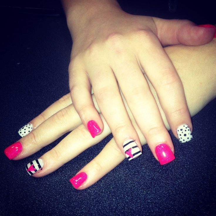 Valentines nails #nailbycandice
