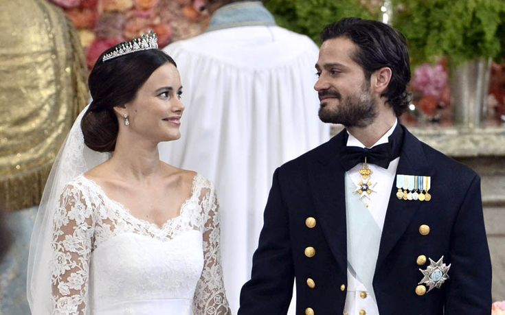 Prince Edward and Countess of Wessex guests as Sofia Hellqvist, a 30-year-old   commoner, marries prince who is third in line to the throne in lavish   Stockholm wedding   | ≼❃≽ @kimludcom