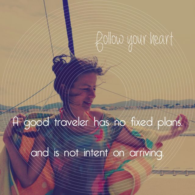 Go travel...