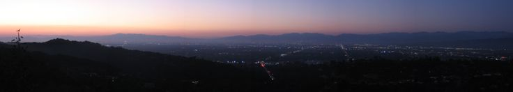 San Fernando Valley from Mulholland Drive