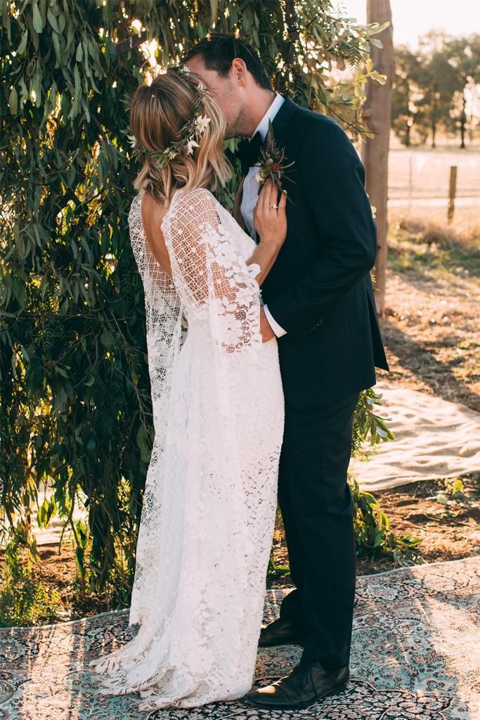 Adriana in our VERDELLE gown | Grace Loves Lace