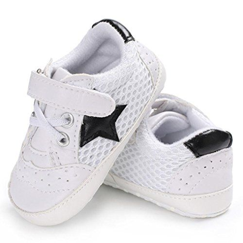 WeiYun Stars Baby Walkers Baby Shoes Sneakers Princess Soft Sole Shoes Toddler Casual Shoes //Price: $4.32 & FREE Shipping //